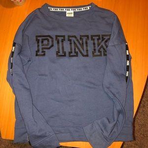 Victoria secret pink crew neck sweatshirt tee